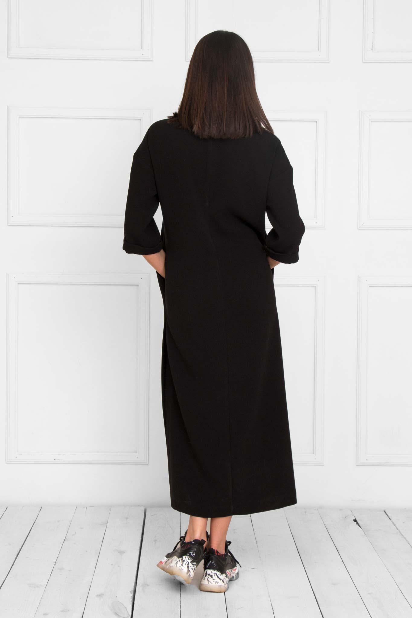 Busha Black Dress