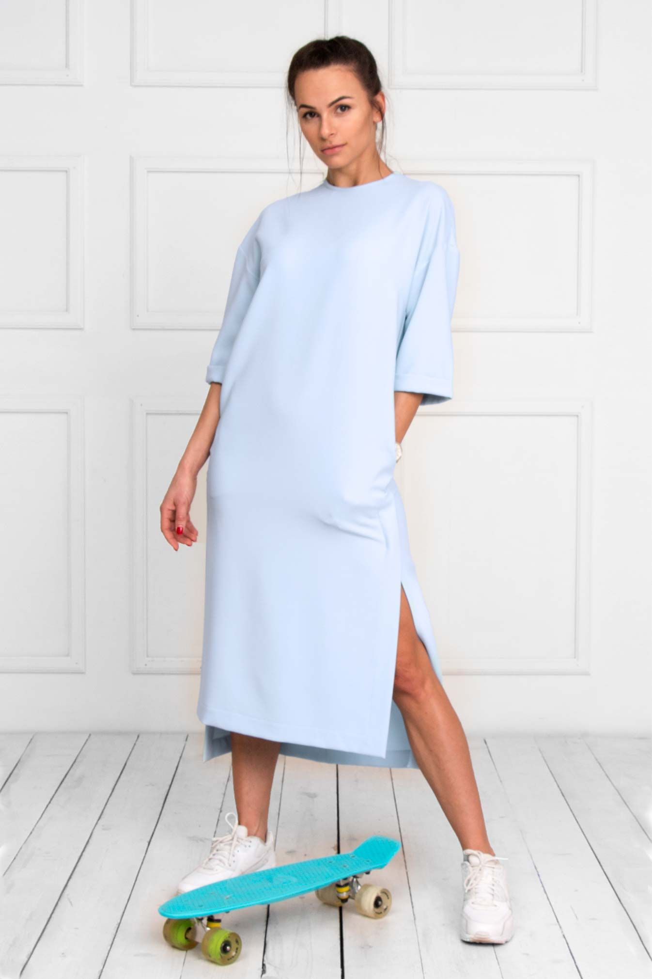 Busha Baby Blue Dress