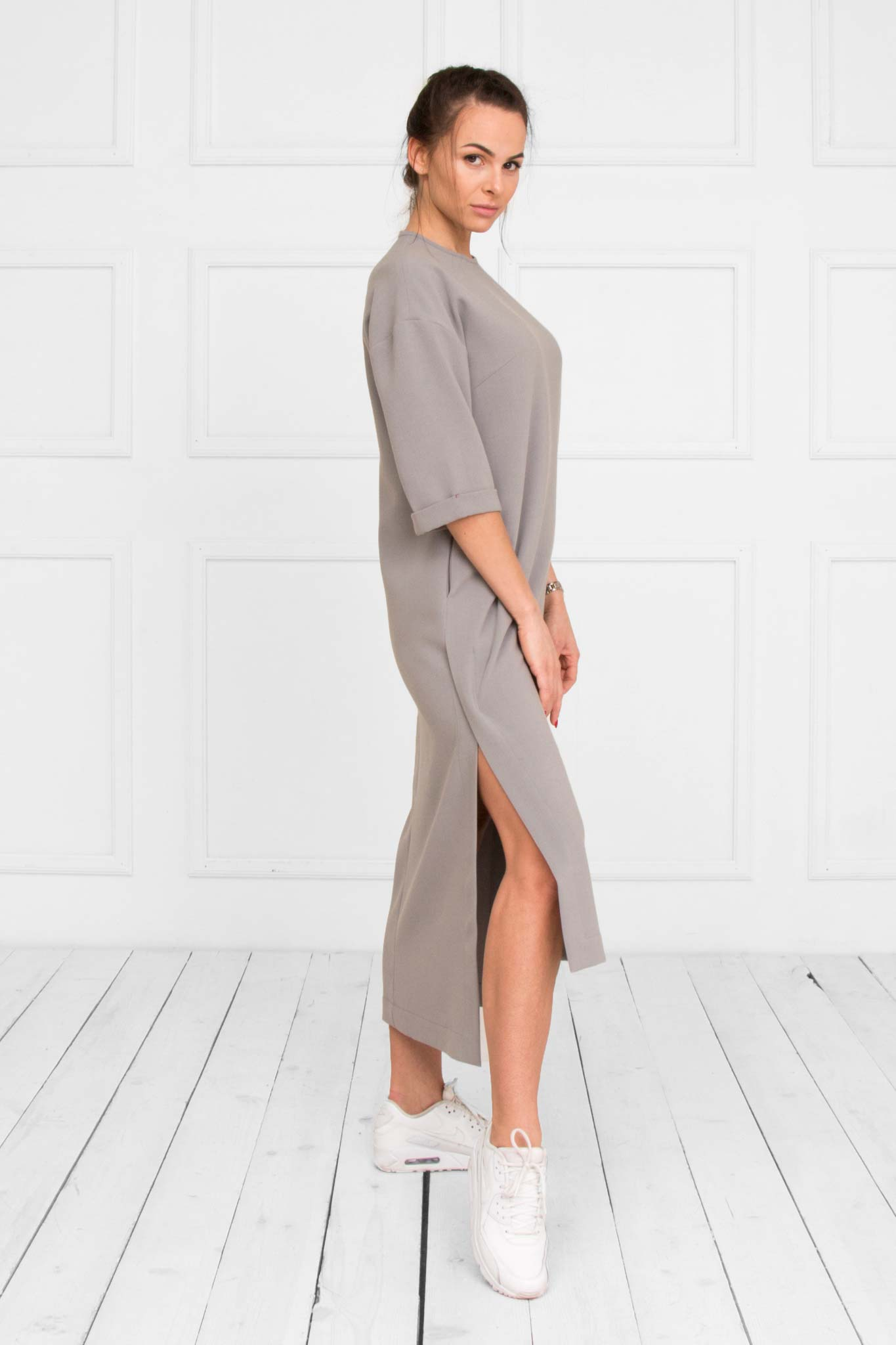 Busha Grey Dress