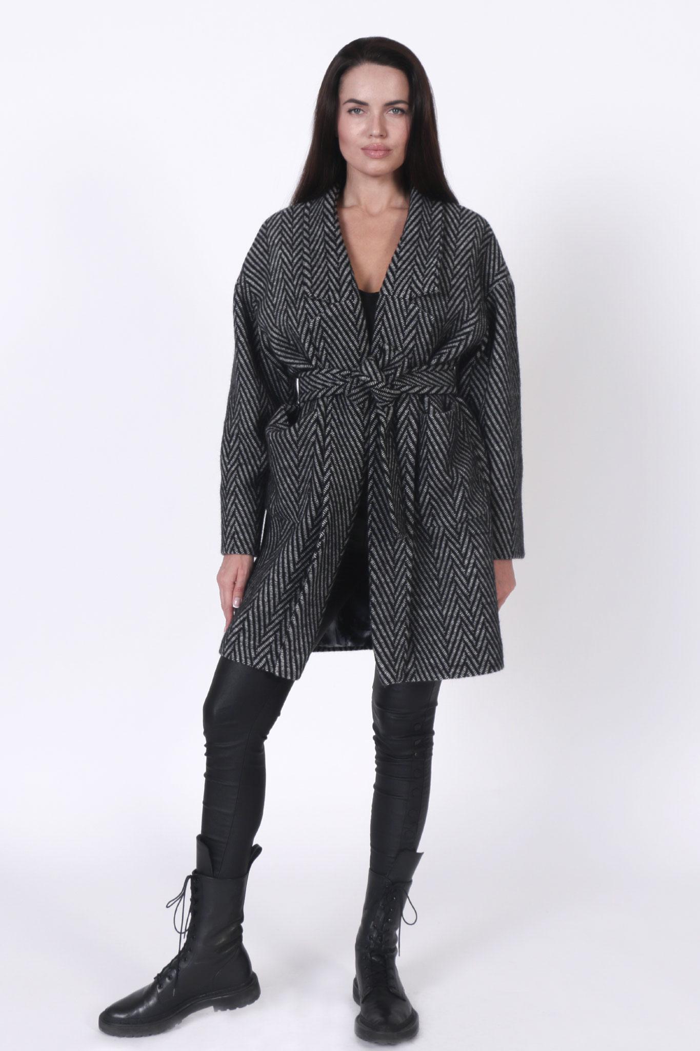 Coat Herringbone